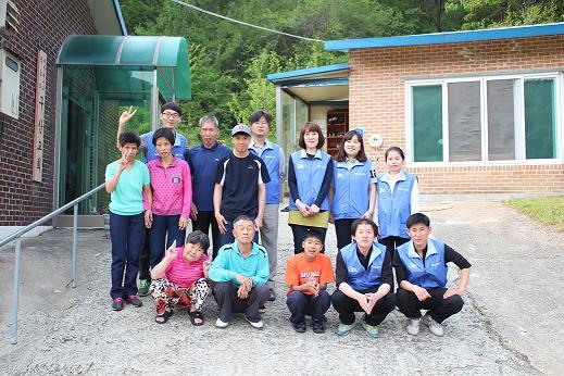 [충남지사] 중증장애인시설 구산원 방문봉사 활동