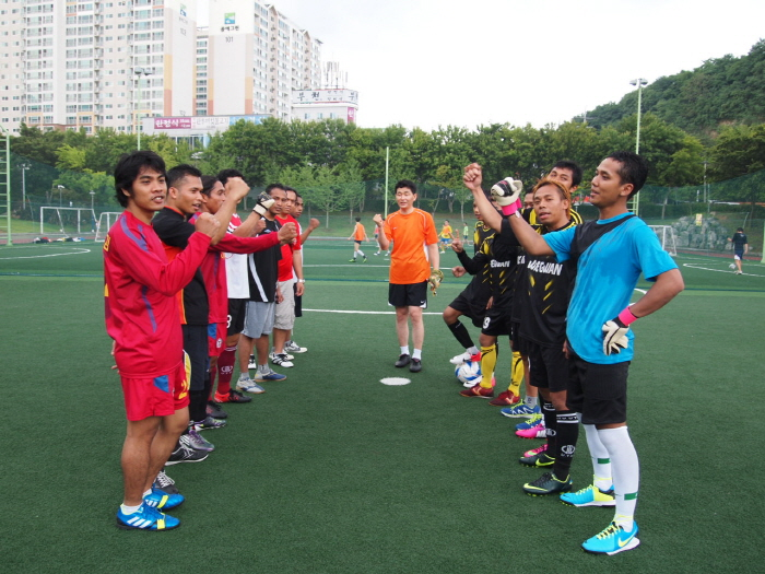 [대구지역본부]외국인근로자와 함께하는 풋살 대회 개최