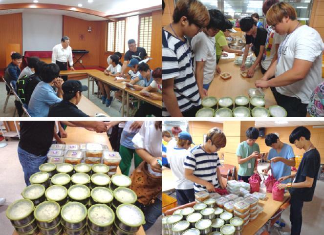 [목포지사 - 취업사관학교 합동 사회봉사활동 이야기] 지난주에 뵈었는데...저희들 기억하시죠? ^^